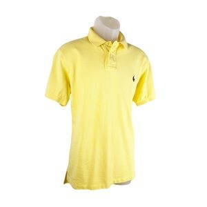 Polo Ralph Lauren Short Sleeve Yellow Golf Shirt